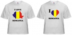 Camiseta - I Love Romania